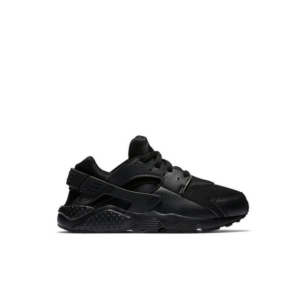 e92bcca72416a Display product reviews for Nike Huarache Run -Triple Black- Preschool  Kids  Casual Shoe
