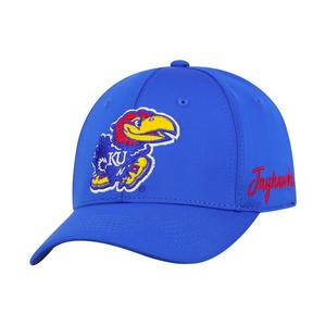 ccf55dcb083 Top of the World Kansas Jayhawks Phenom Stretch-Fit Hat