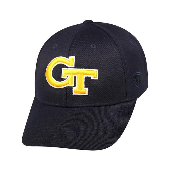 Top of the World Georgia Tech Yellow Jackets Premium Collection Fitted Hat  - Main Container Image c4cbb801ebd