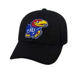 5eabc5af59f Top of the World Kansas Jayhawks Premium Collection Fitted Hat