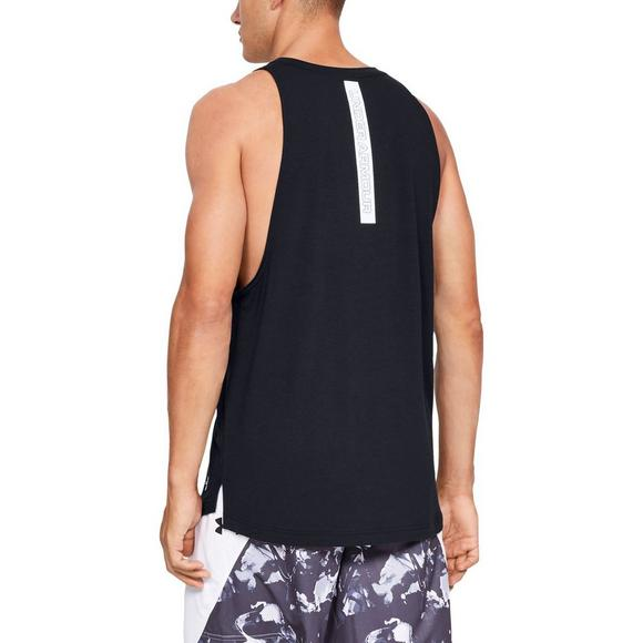 4f4214cf253d8 Under Armour Men s Baseline Cotton Basketball Tank Top - Main Container  Image 2