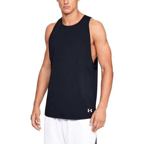 0b883482b4142 Under Armour Men s Baseline Cotton Basketball Tank Top - Main Container  Image 1