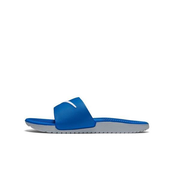 58d1687b94cf Nike Kawa Grade School Kids' Slides - Hibbett US