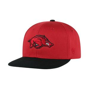 c237f6cb01d Top of the World Youth Arkansas Razorbacks Maverick Snapback Hat