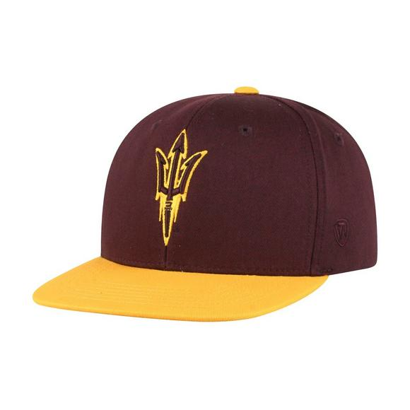 a07d963c4346ce Top of the World Youth Arizona State Sun Devils Maverick Snapback Hat -  Main Container Image