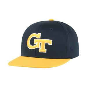 447e9db19cf Top of the World Youth Georgia Tech Yellow Jackets Maverick Snapback Hat
