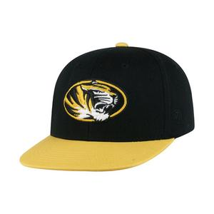 680a8c2d9f1 Top of the World Youth Missouri Tigers Maverick Snapback Hat