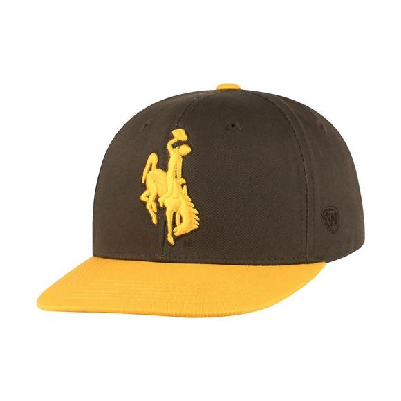Top of the World Youth Wyoming Cowboys Maverick Snapback Hat