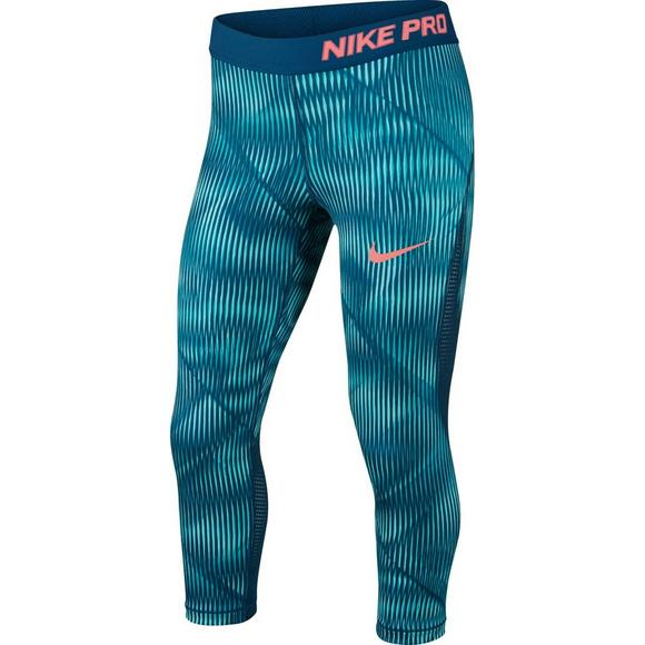 09388f321c2951 Nike Girls' Pro Hypercool Capris - Main Container Image 1