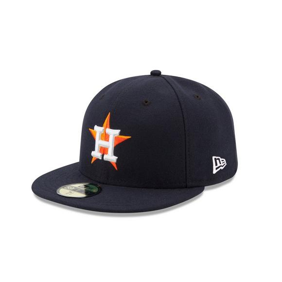 super popular 94c64 cd807 New Era Houston Astros 59FIFTY Authentic Collection Fitted Hat - Main  Container Image 1