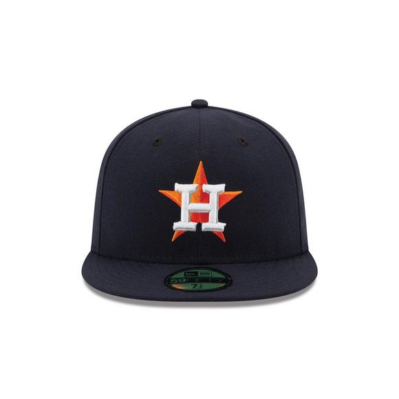 newest 983e1 41bc6 New Era Houston Astros 59FIFTY Authentic Collection Fitted Hat - Main  Container Image 2