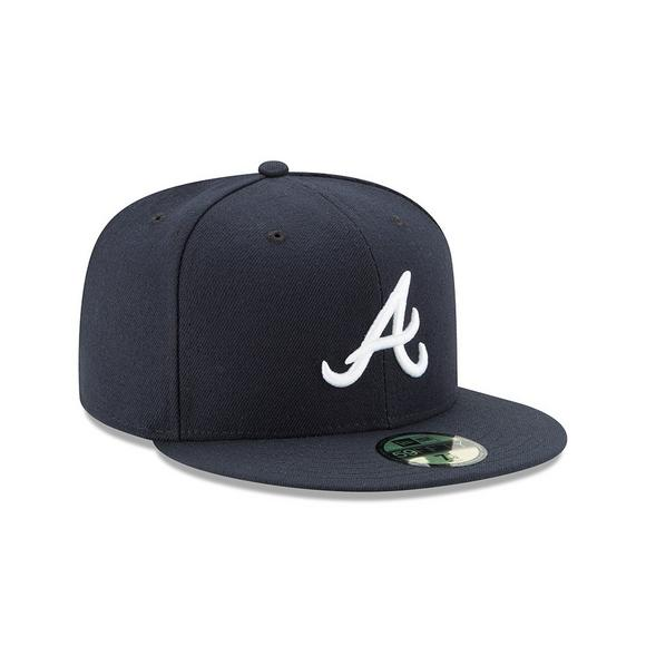 d51b5a48 New Era Atlanta Braves Men's Fitted Hat - Main Container Image 2