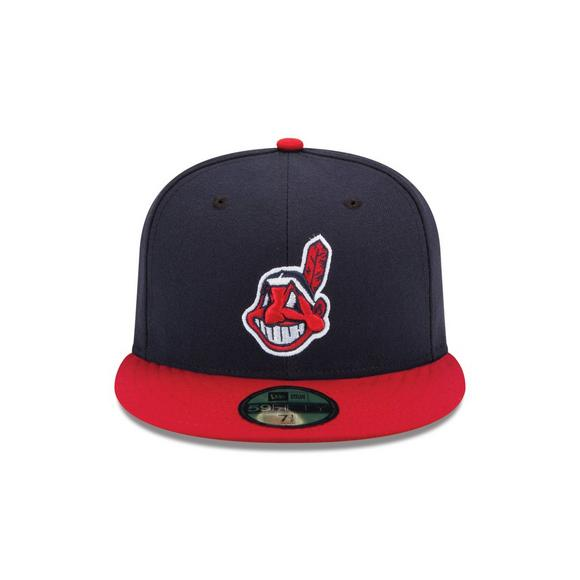 94c17f36ce0 New Era Cleveland Indians 59Fifty Fitted Hat - Main Container Image 2