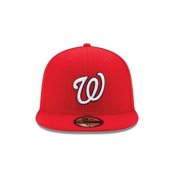 9038150c121 New Era Washington Nationals 59FIFTY Authentic Collection Hat - Main  Container Image 2