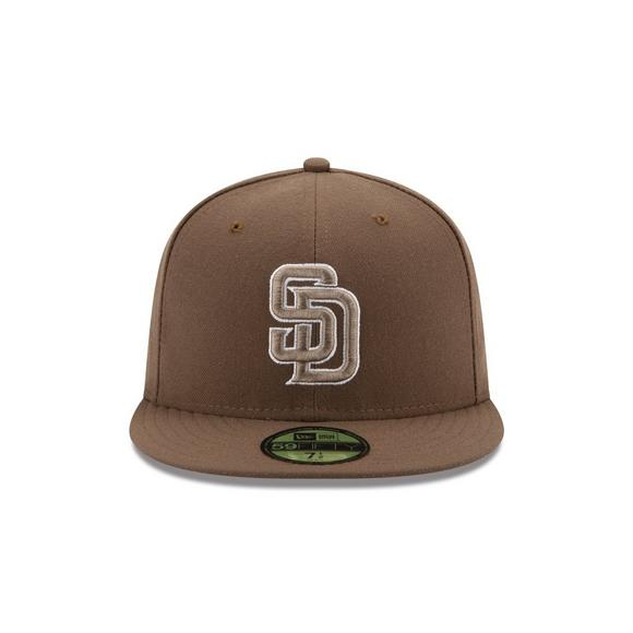 big sale a53e4 790f6 New Era San Diego Padres 59Fifty Fitted Cap - Main Container Image 1
