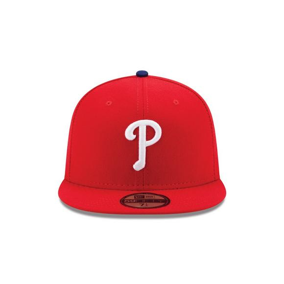 44abb711c39 New Era Philadelphia Phillies 59FIFTY Authentic Collection Hat - Main  Container Image 2