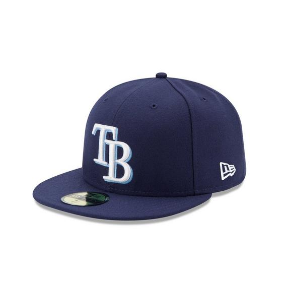 New Era Tampa Bay Rays 59Fifty Game Hat - Main Container Image 1 3ab11bc1381