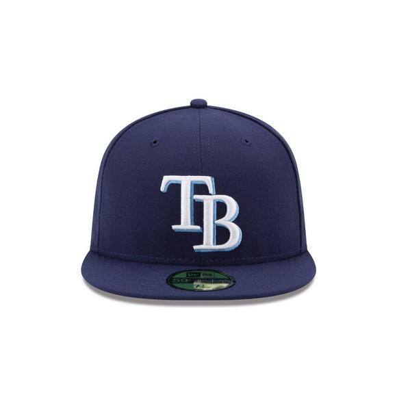 best loved e56bc 25e74 New Era Tampa Bay Rays 59Fifty Game Hat - Main Container Image 2