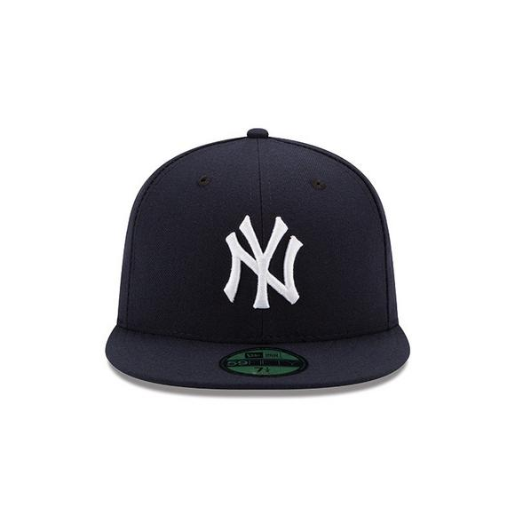 hot sale online c8270 ce372 New Era New York Yankees 59FIFTY Authentic Collection Hat Navy - Main  Container Image 2