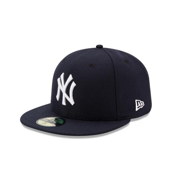 2635d3b0 New Era New York Yankees 59FIFTY Authentic Collection Hat Navy - Hibbett US