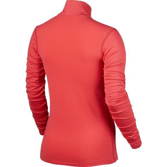 f9d66e9e Nike Women's Pro Warm Half Zip Long Sleeve Shirt - Main Container Image 2