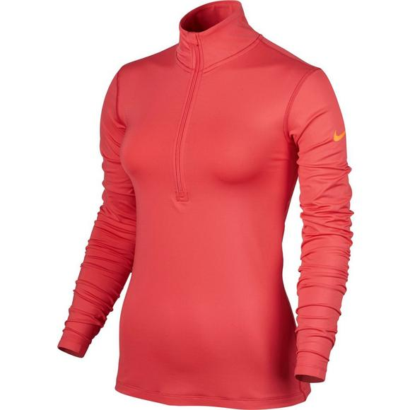 d1fc3681 Nike Women's Pro Warm Half Zip Long Sleeve Shirt - Main Container Image 1