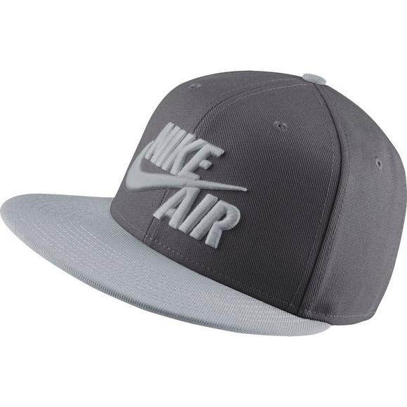 42d324a88 Nike Sportswear Air True Snapback Hat-Grey - Hibbett US