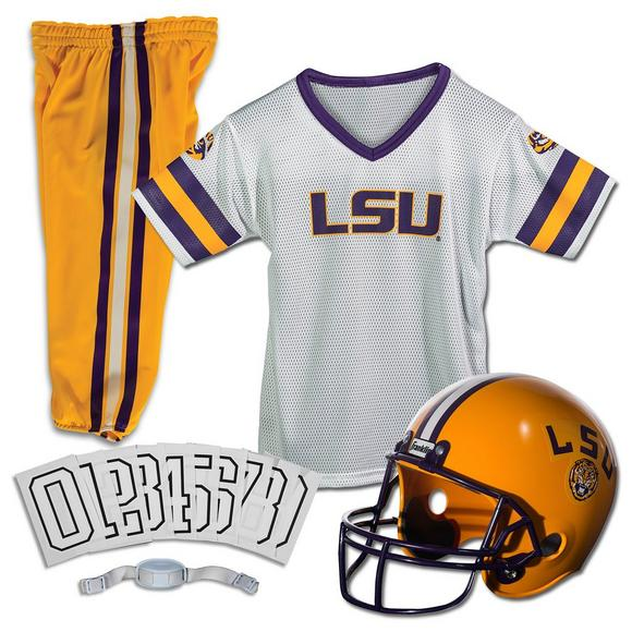 official photos b2426 fe274 Franklin Youth LSU Tigers Medium Deluxe Football Uniform Set