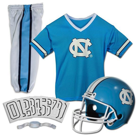 detailed look 46d0e 04114 Franklin Youth North Carolina Tar Heels Medium Deluxe Football Uniform Set  - Main Container Image 1