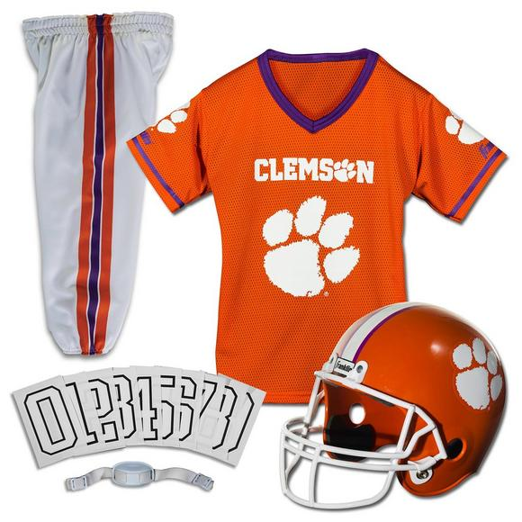 the best attitude 29392 f1cd8 Franklin Youth Clemson Tigers Medium Deluxe Football Uniform Set - Main  Container Image 1