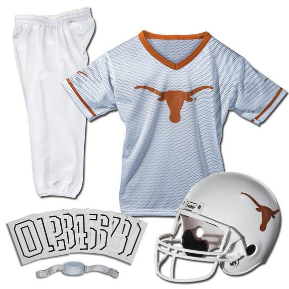 the best attitude ce031 e7f45 Franklin Youth Texas Longhorns Medium Deluxe Football Uniform Set