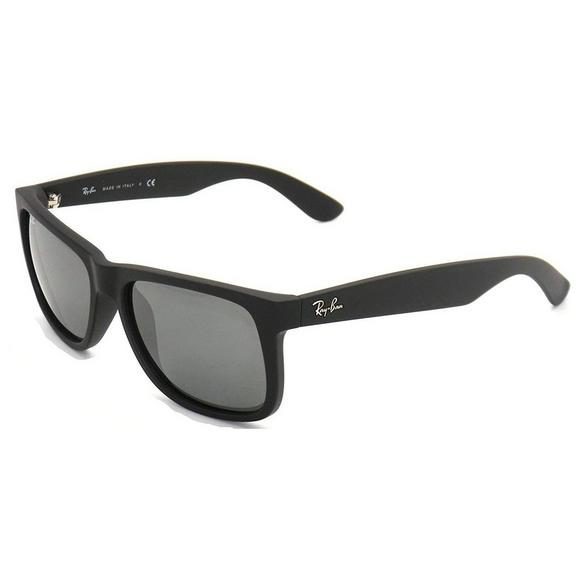 0d5d5b00a184 Ray-Ban RB4165 54 JUSTIN MIRRORED Sunglasses - Main Container Image 2