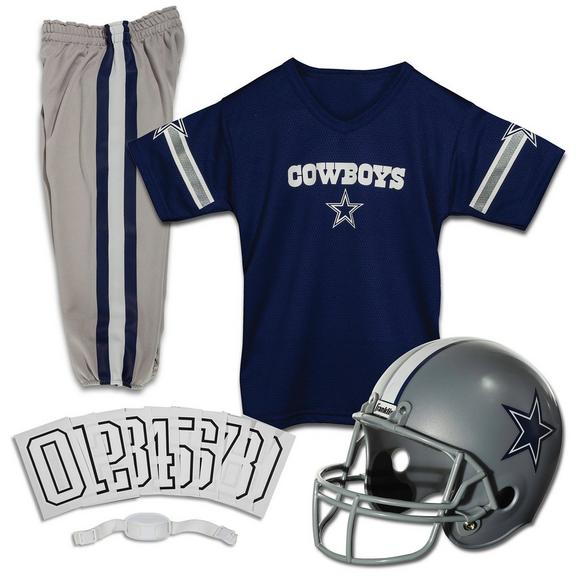 3b3d0582d Franklin Youth Dallas Cowboys Small Deluxe Uniform Set - Main Container  Image 1