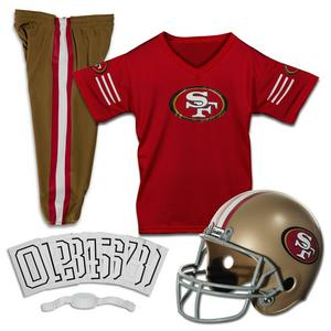 Franklin Youth San Francisco 49ers Small Deluxe Uniform Set 21f8cdd50