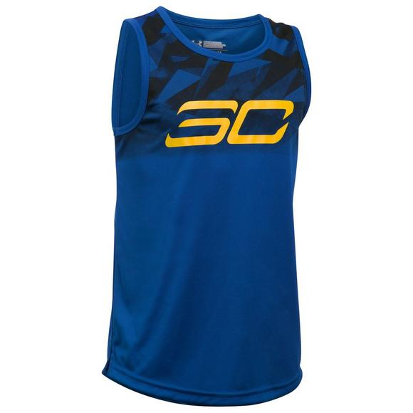 75d5584678 Under Armour Boys' SC30 Essentials Basketball Tank Top - Main Container  Image 1