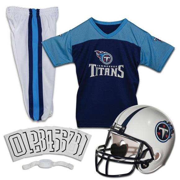save off 67796 e6fd1 Franklin Youth Tennessee Titans Medium Deluxe Uniform Set
