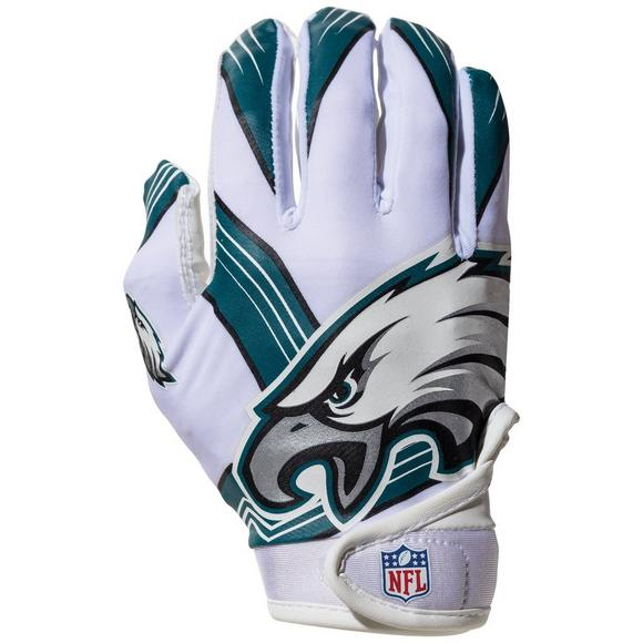 sale retailer 664da 46a38 Franklin Youth Philadelphia Eagles Receiver Gloves