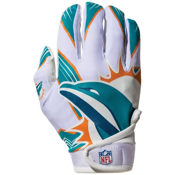 Franklin Youth Miami Dolphins Receiver Gloves - Main Container Image 1 fb12f6bfb1