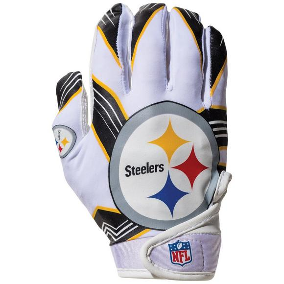 best sneakers fc047 786c7 Franklin Youth Pittsburgh Steelers Receiver Gloves