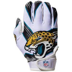 41e5d61f23f7 Franklin Youth Jacksonville Jaguars Receiver Gloves. Sale Price 19.99