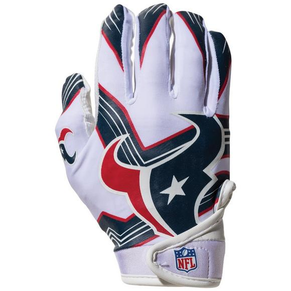 Franklin Youth Houston Texans Receiver Gloves - Main Container Image 1 5566ec189d