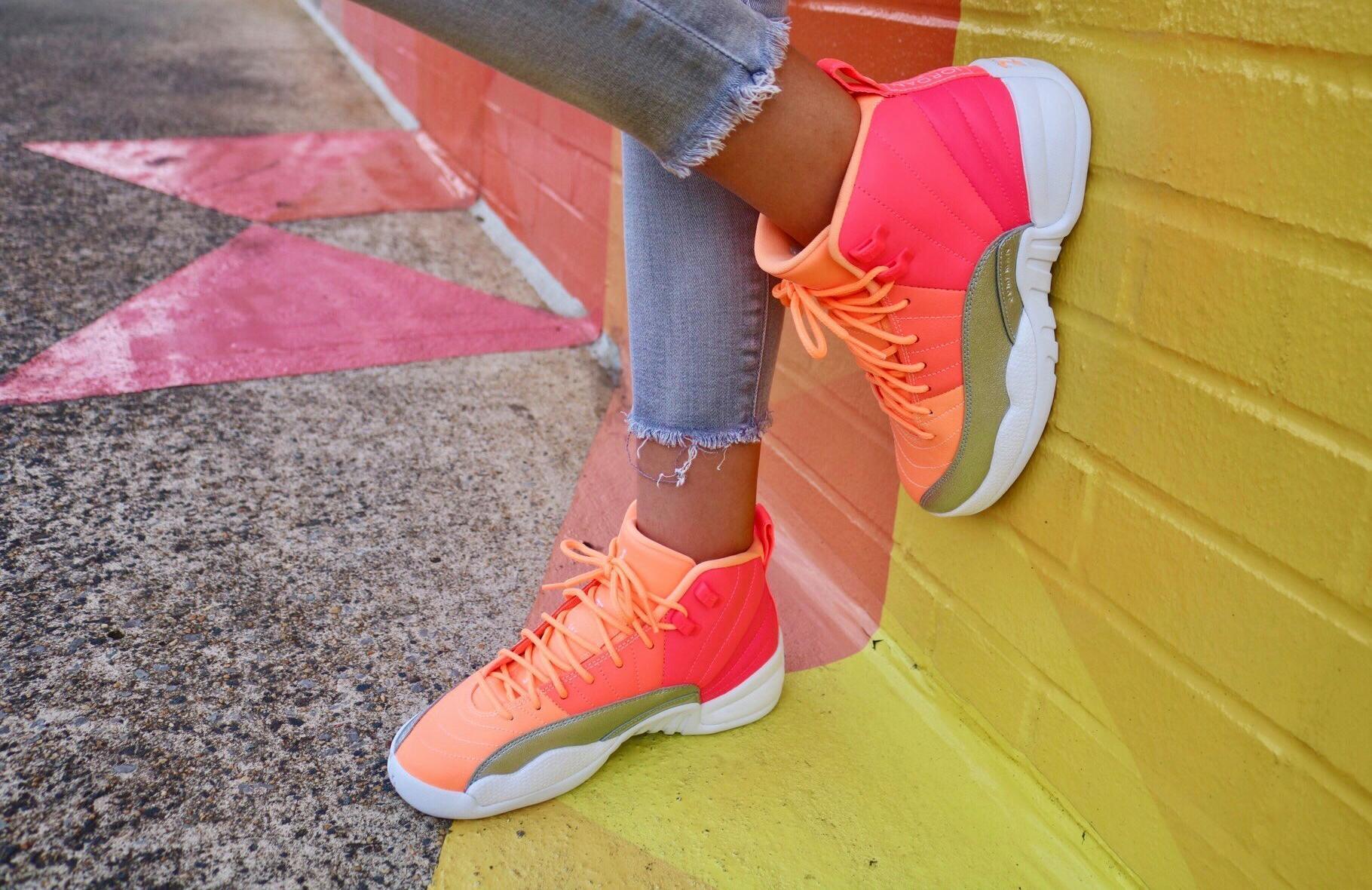 Sneakers Release Jordan Retro 12 Racer Pink White Hot Punch