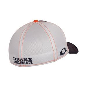 bfb8b2054062a6 ... Drake Waterfowl Auburn Tigers Stretch-Fit Hat
