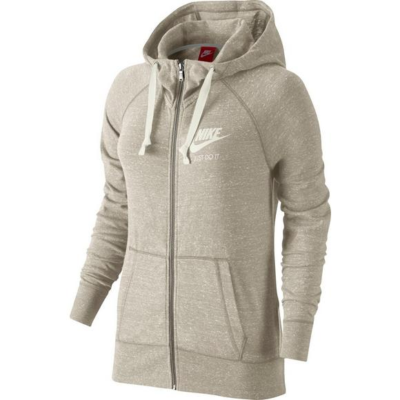 ab03caac2aa2 Nike Women s Gym Vintage Full-Zip Hoodie - Main Container Image 1
