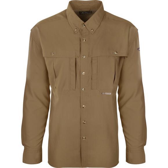e64eff626cd6e Drake Waterfowl Men's Flyweight Wingshooter's Long Sleeve Shirt - Main  Container ...