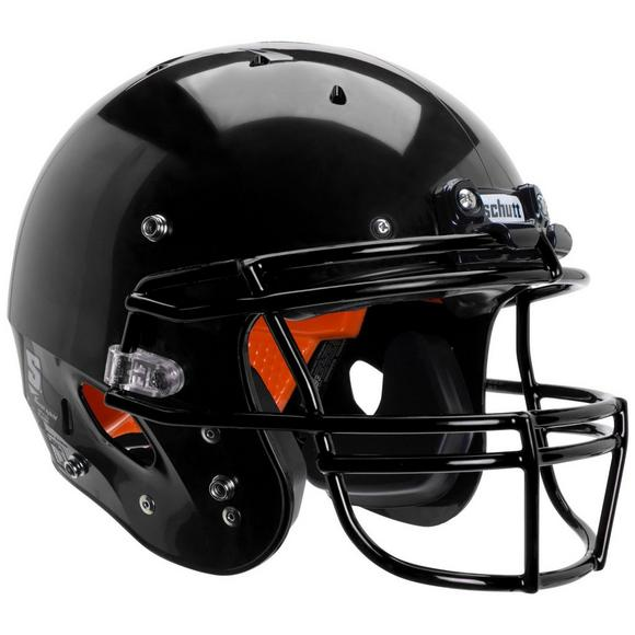 schutt youth recruit hybrid football helmet facemask not included