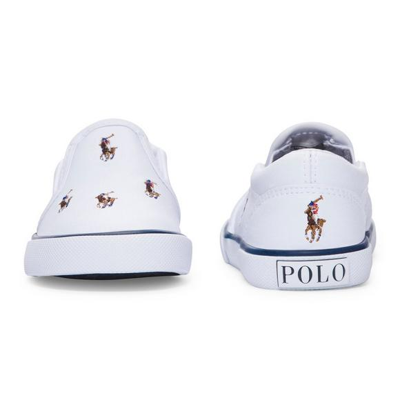 42e9d1e2 Polo Ralph Lauren Bal Harbour Repeat Leather Toddler Boys' Shoe