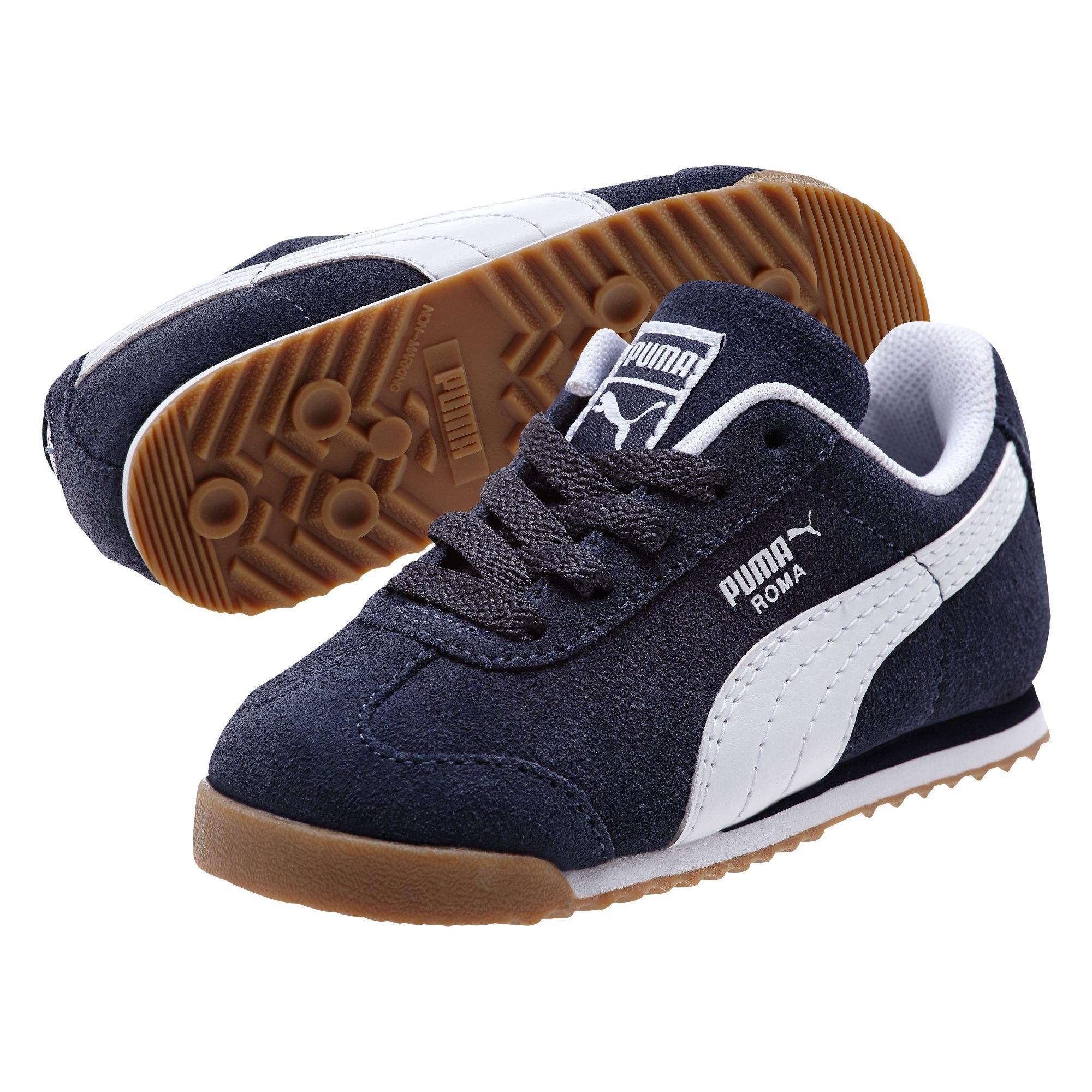 puma roma shoes. puma roma suede toddler boys\u0027 casual shoe - main container image 1 shoes b