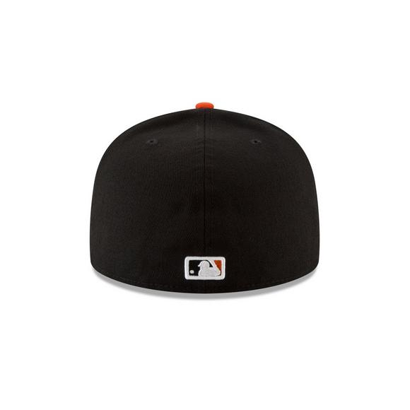 02df151fcba New Era Baltimore Orioles 59FIFTY Authentic Collection Home Fitted Hat -  Main Container Image 3