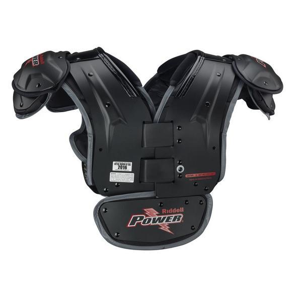 Riddell Power SPK + QB/WR Varsity Adult Football Shoulder Pads